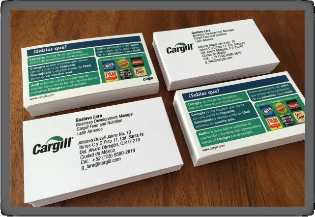 Cargill Tarjetas