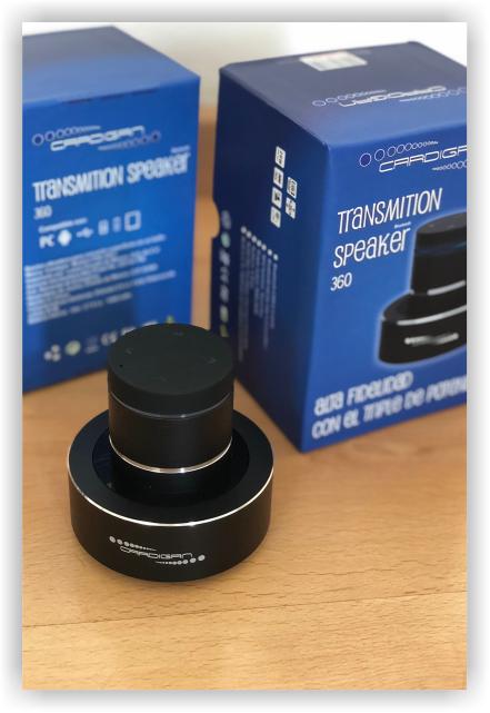Cardigan Empaque Transmision Speaker 360