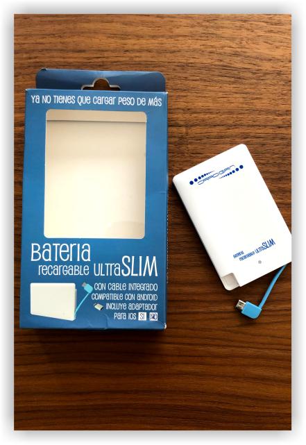Cardigan Empaque Batería Ultra Slim