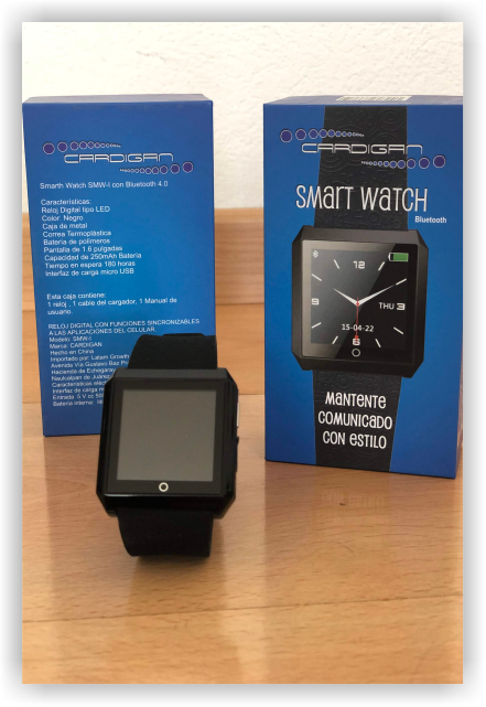 Cardigan Empaque Smartwatch 1