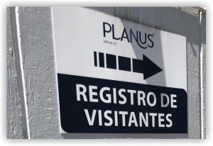 Planus Branding Registro Visitantes